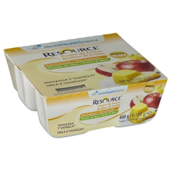 resource postre de frutas 4x100 g
