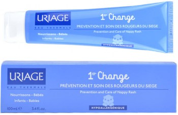 uriage 1er change pasta al agua 100 ml